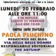 Il villaggio dei libri (radiobunny)ospite della puntata del 20 febbraio Paola Pluchino